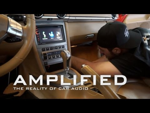 Amplified - Pioneer Avic x940bt navigation installed - Porsche Cayman S, EP 82