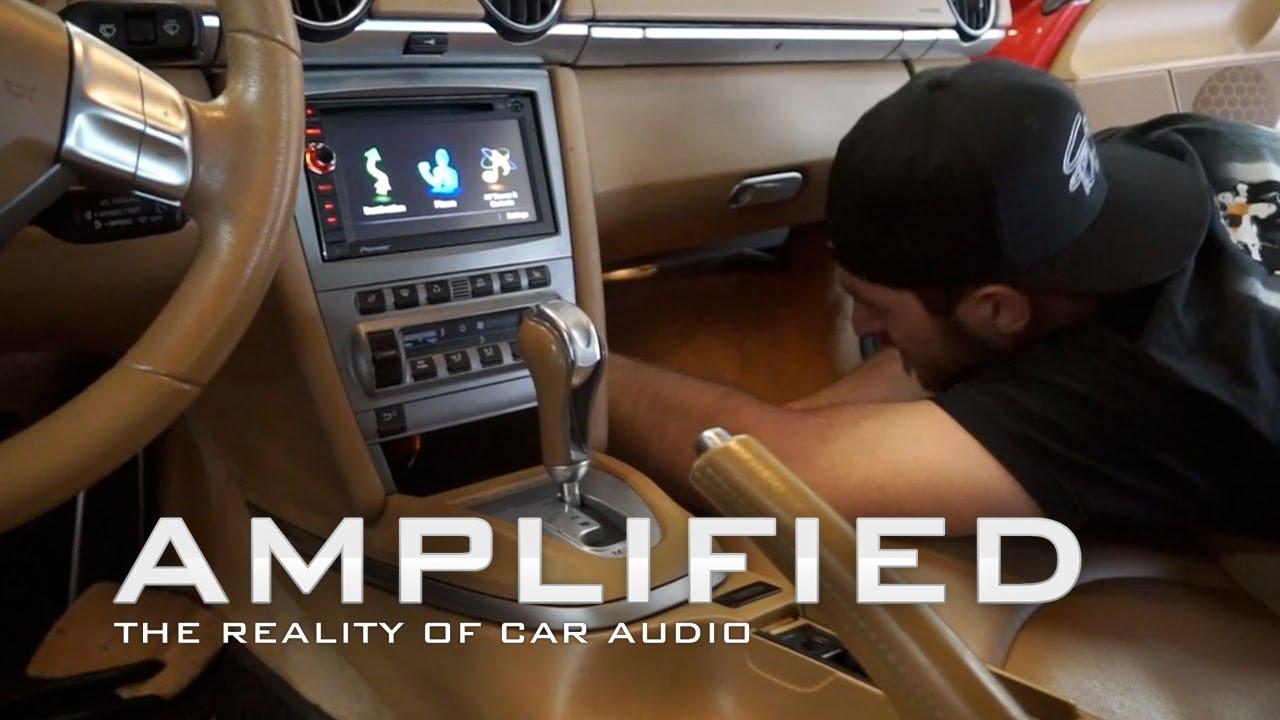 Amplified Pioneer Avic X940bt Navigation Installed Porsche Wiring Diagram Cayman S Ep 82 Youtube