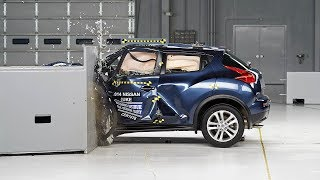 2014 Nissan Juke Driver-Side Small Overlap Iihs Crash Test