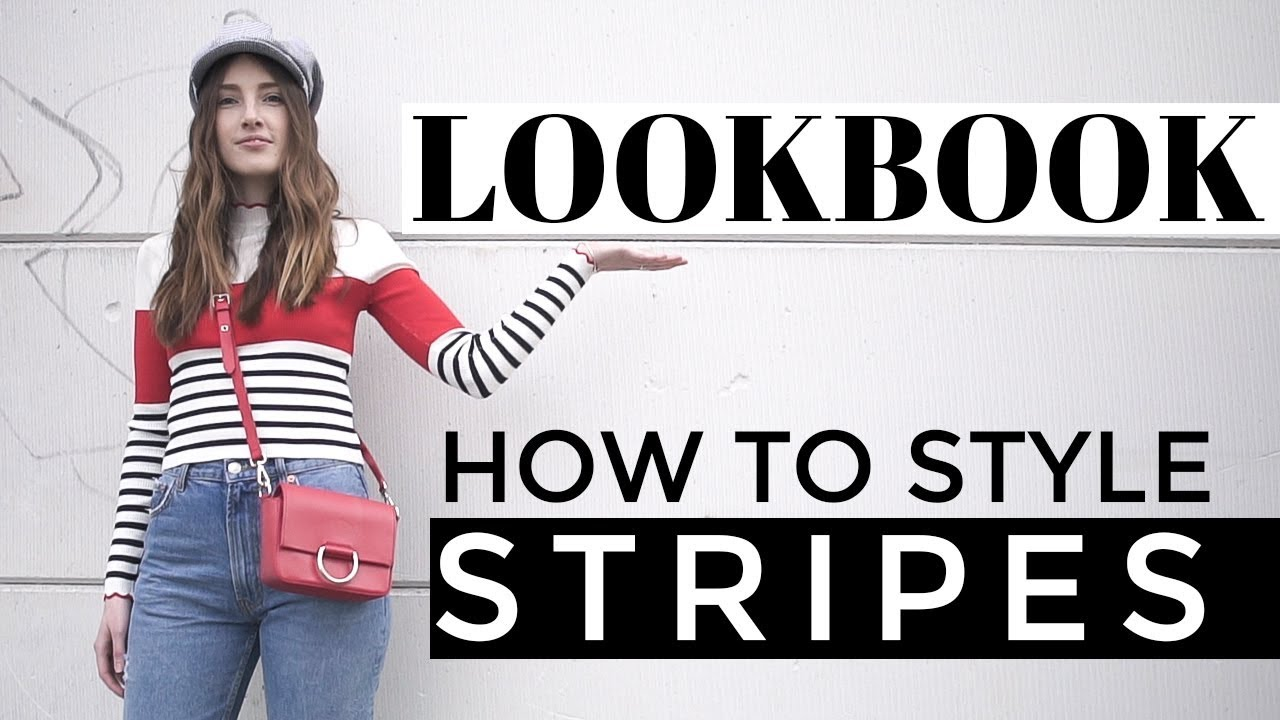 SPRING LOOKBOOK 2018 | How To Style Stripes | Affordable Outfit Ideas