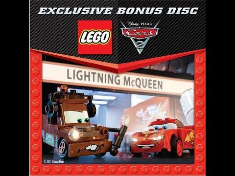 Lego Cars 2 Bonus Disc 2011 Dvd Menu Walkthrough Youtube
