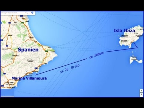 Weltumseglung in Etappen, Spanien, Balearen, SY Josef Haydn- Teil 04- 1990