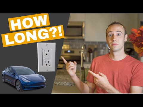 Charging an Electric Vehicle on a Standard 120v Outlet | It\'s POSSIBLE but is it REALISTIC?