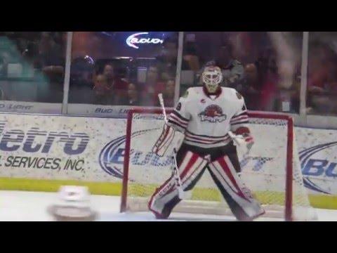 Michael Leighton's 46th AHL Shutout