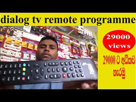dialog tv remote program