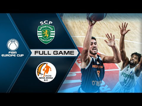 Sporting CP v Ironi Ness Ziona | Full Game - FIBA Europe Cup 2020-21