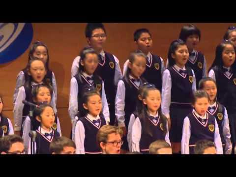 Shenyang Children's Choir Sing with Les Petits Chanteurs à la Croix de Bois