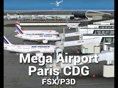 Paris charles de gaulle Airport (LFPG) Download & Setup (FSX