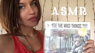ASMR READING: WHERE THE WILD THINGS ARE | WHISPERED | BOOK & PAPER SOUNDS