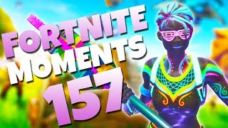 ONE IN A MILLION GRAVITY GLITCH!! (GOING SUPER SAIYAN!) | Fortnite Daily and Funny Moments Ep. 157