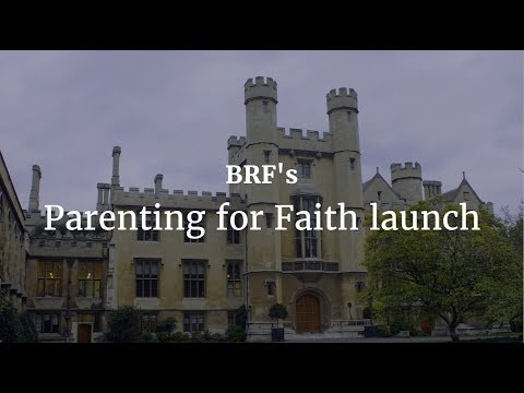 BRF's Parenting for Faith launch at Lambeth Palace, London