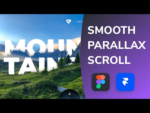 Smooth Parallax Scrolling in Figma + Framer Web 🔥   Design Weekly