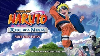 Going Back In Time! Naruto Rise Of A Ninja FULL GAME Playthrough Stream!