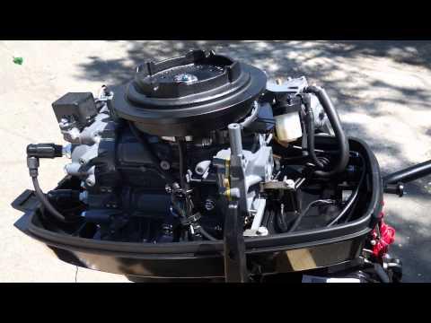 Мотор лодочный Suzuki DT9 9AS переделка в 15 л с