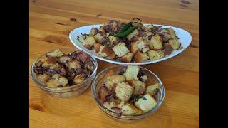 15 Minute Recipe  EASY and QUICK Savoury Crumpet snack  Simple Crumpet Biran  Crumpet Pitha Biran
