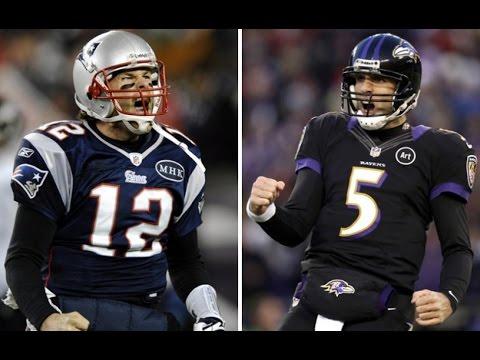 Tom Brady vs. Joe Flacco