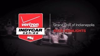 2014 Grand Prix of Indianapolis: Race Highlights
