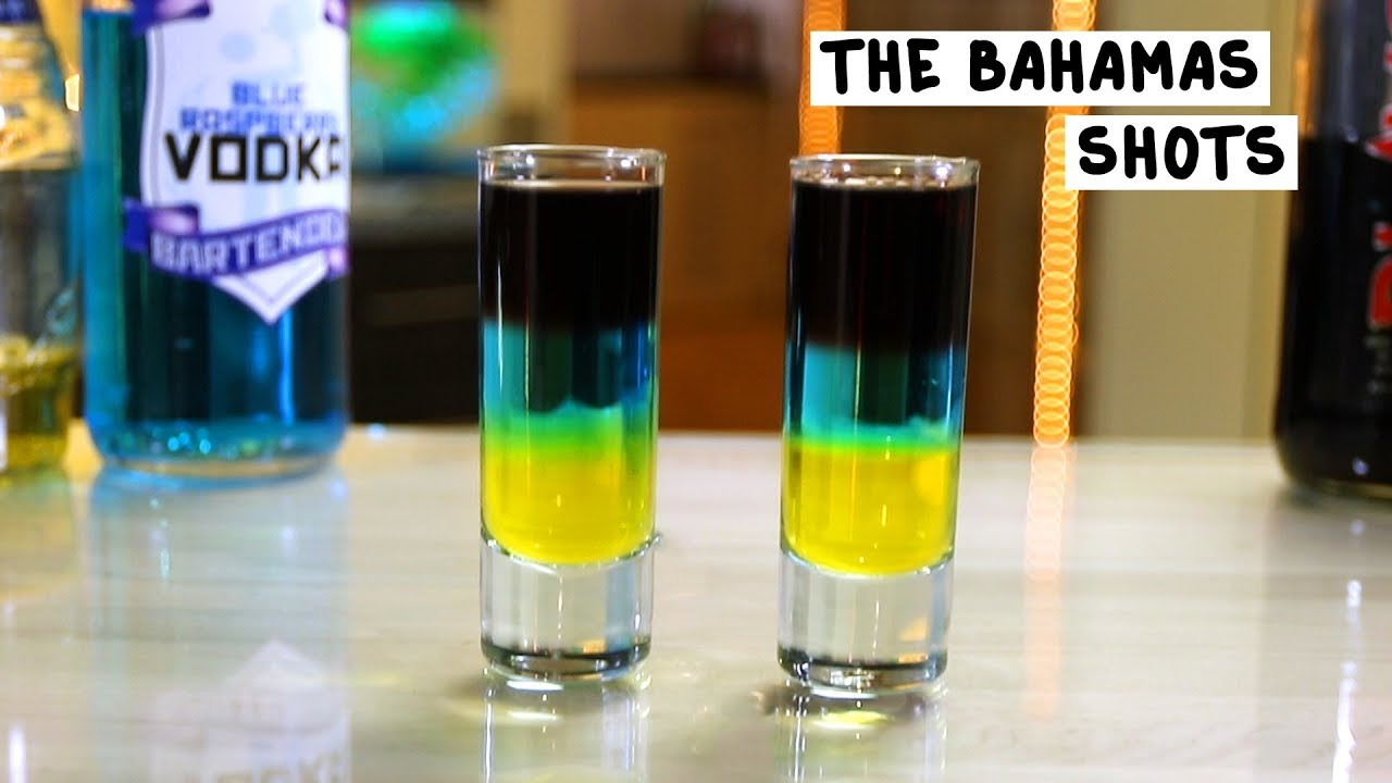 Bahamas Shot Tipsy Bartender - Drinking age in bahamas