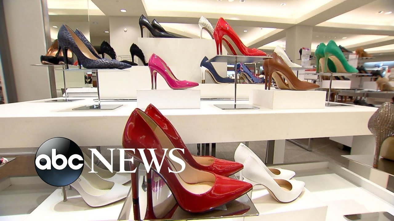 Design Changes Aim to Provide High Heel-Wearers More Comfort - YouTube