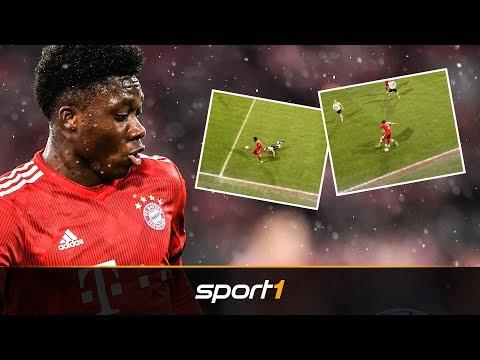 Zu verspielt? So zockt Alphonso Davies bei Bayern II | SPORT1