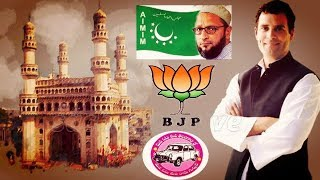 Rahul Gandhi At Charminar Hyderabad | Speech Against Aimim Trs And Bjp | @ SACH NEWS |