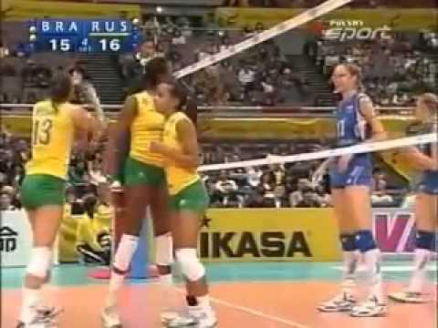 มาดูนักวอลเลย์บอลหญิงบราซิลด่ากับรัสเซีย