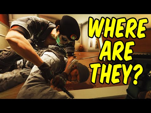 WHERE ARE THEY? - Rainbow Six Siege Funny Moments