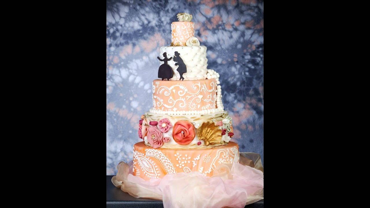 Hochzeitstorte 5 Stockig Berlin 5 Stockige Torte Youtube