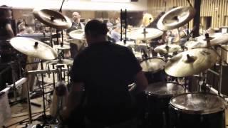 "Dimmu Borgir/Orchestra Intro/""Born Treacherous"" Daray Drum Cam"
