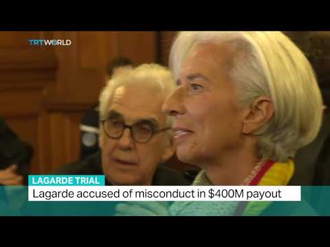 Lagarde Trial: Verdict expected in IMF chief's payout case