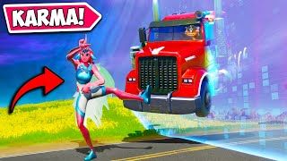 *ZERO IQ* INSTANT KARMA FAIL!! - Fortnite Funny Fails and WTF Moments! #1000