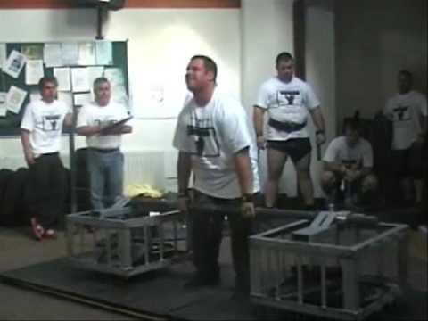 St.Ives Strongest Man 2009 - Silver Dollar Deadlift