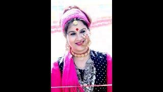 Sangeeta Dhoundiyal Live Dwarka (N.Delhi) 13 Jan 2019 Hey Pando Khela Paanso