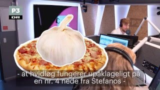Hvidløg i numsen eller på pizza | Go' Morgen P3 | DR P3