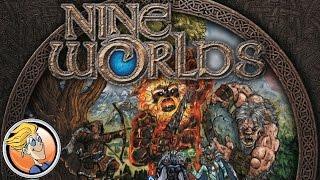 Nine Worlds — game overview at SPIEL 2016 by designer Richard Denning