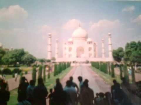 The Taj Mahal, is a white marble mausoleum located inAgra, U. P. India