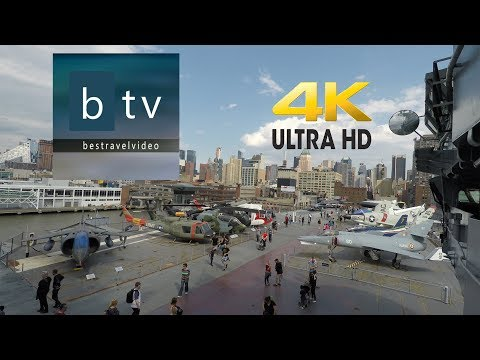 Interpid Sea, Air & Space Museum New York: a walk inside in 4k - UHD.