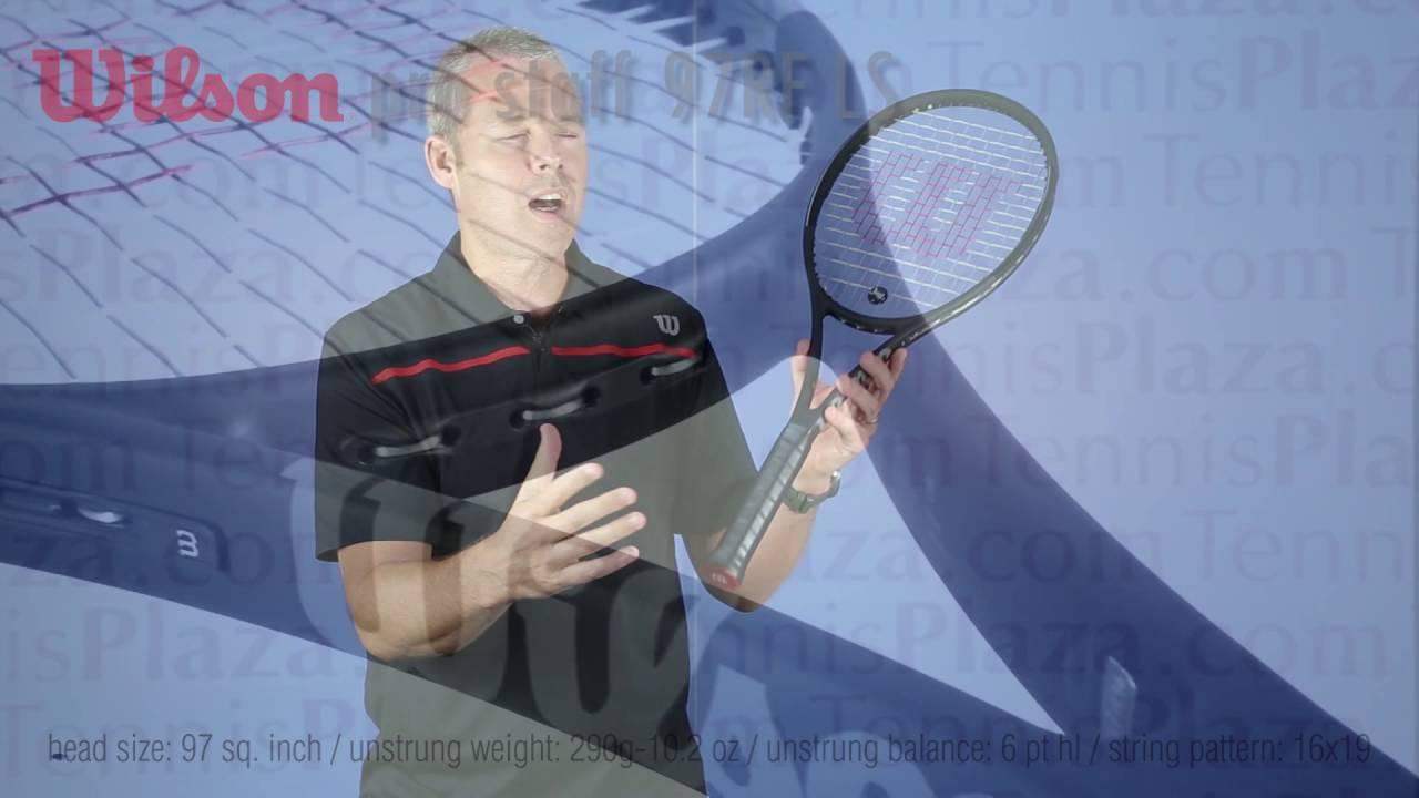 c1943f0b0 Wilson Pro Staff 97LS 2017 Tennis Racquet Review