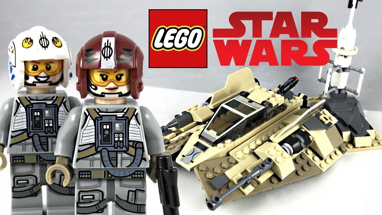 lego star wars sandspeeder review 2018 set 75204 youtube. Black Bedroom Furniture Sets. Home Design Ideas