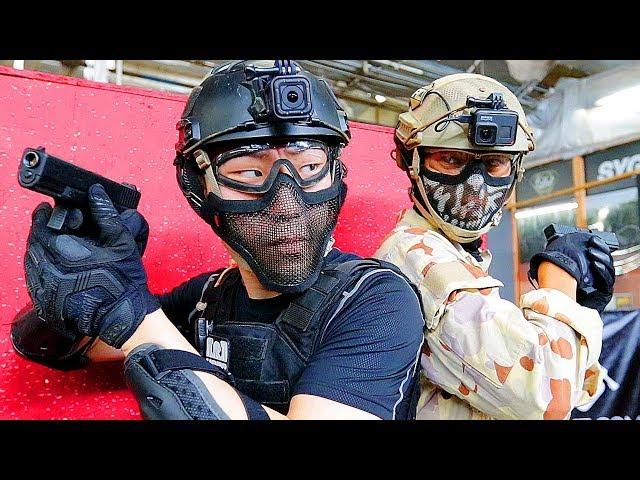 Airsoft TTT - Defusing A Bomb During A Gun Fight!
