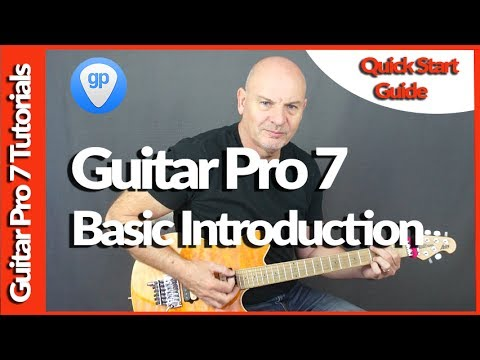 Guitar Pro 7 Basic Functions Tutorial For The Guitar Or Bass Player