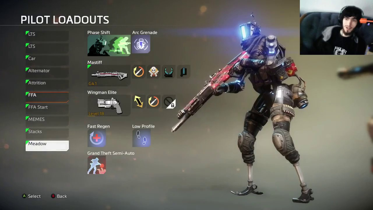 Titanfall 2: My Pilots Load outs, Titan Kits, and Weekly ...
