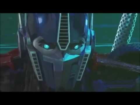 Transformers Prime Music Video: Optimus Prime vs Megatron (Revenge of the Prime)
