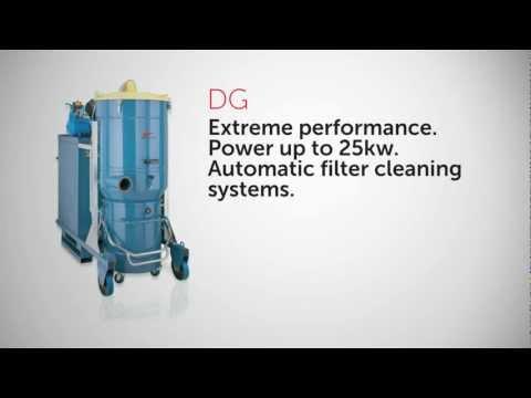 Промышленные пылесосы Delfin Industrial Vacuum Cleaners Range