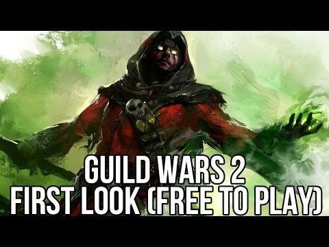 Guild Wars 2 (Free MMORPG): Watcha Playin' First Look Gameplay Video (Free to Play 2015)