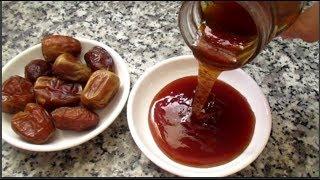 طريقة تحضير عسل التمر بديل طبيعي للسكر صحي للأطفال والكبار