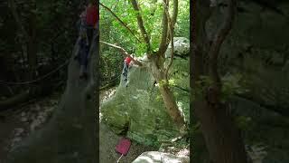 Alone - First Ascent at Eridge Green Rocks
