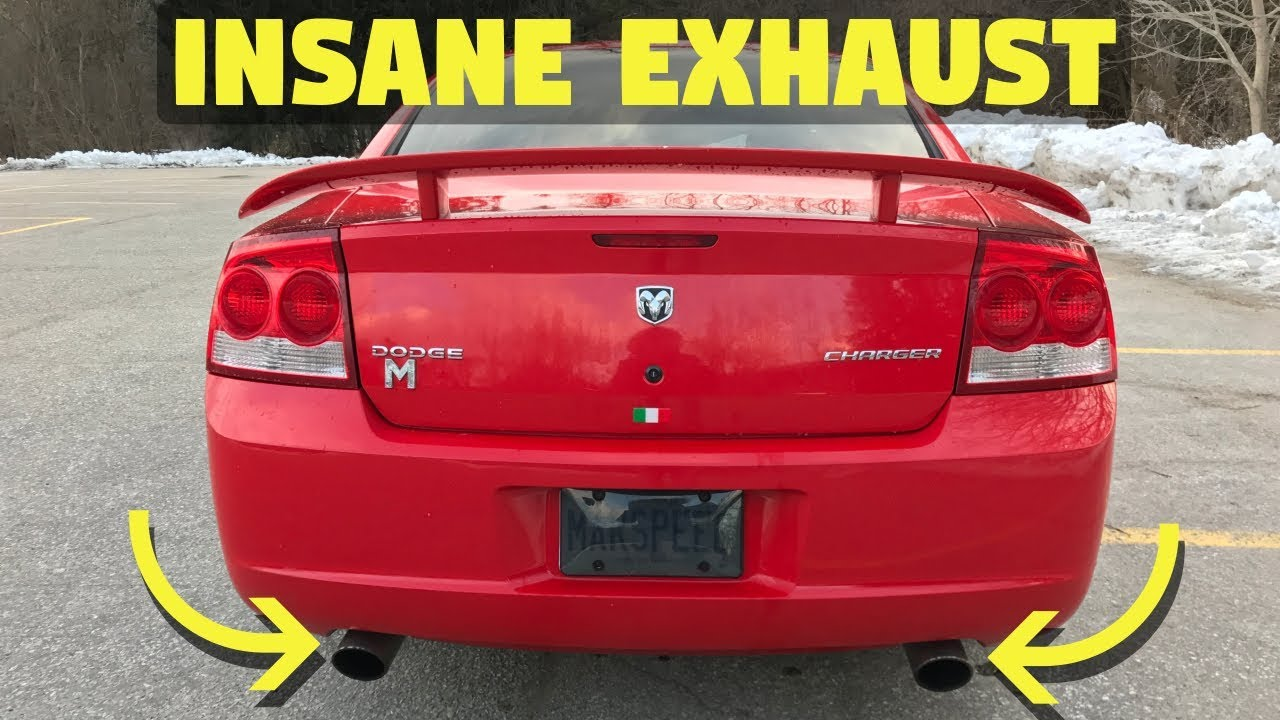 dodge charger exhaust