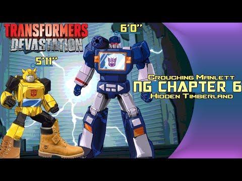 (Ch. 6) Crouching Manlett -- Hidden Timberland [Transformers Devastation NG Commander]