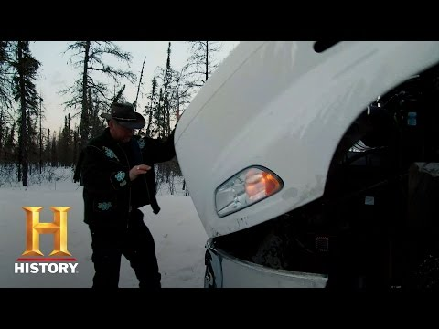 Ice Road Truckers: Alex Gets in an Accident (S9, E10) | History